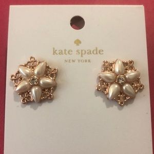 Kate Spade Chantilly Charm Earrings NWT